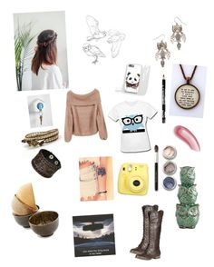 """""""Untitled #203"""" by elsa-mchaney ❤ liked on Polyvore featuring Aéropostale, Pier 1 Imports, Laura Mercier, Refresh, Nemesis and Bare Escentuals"""