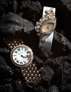 Once Upon a Time - Gold Watches Cartier Piaget