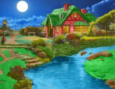 Fantasy Cottage (30 pieces)