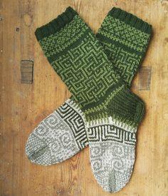 Loom Knitting, Knitting Socks, Hand Knitting, Knitting Patterns, Stitch Patterns, Crochet Socks, Knitted Slippers, Knit Crochet, Knit Socks