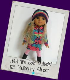 Hearts 4 Hearts Doll Clothes Its Cold by 123MULBERRYSTREET on Etsy