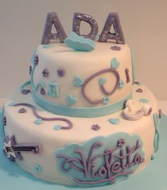 Tarta Violetta (Personaje Disney) / Violetta Cake