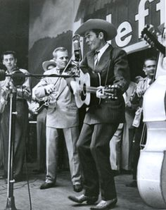 """June 11, 1949: Country music legend Hank Williams debuts on Grand Ole Opry. He performs """"Lovesick Blues"""" and """"Mind Your Own Business."""""""