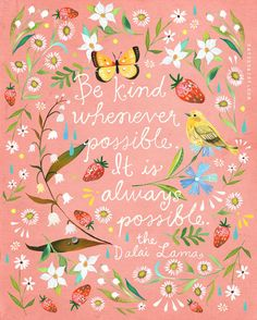 Charming Illustrations Fuse Nature with Quotes to Inspire Creativity in Our Own Lives - My Modern Met