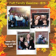 Fall Family Pictures $75 West Michigan - Muskegon, Grand Rapids and all areas in between.  Britney May Photography - www.britneymay.com