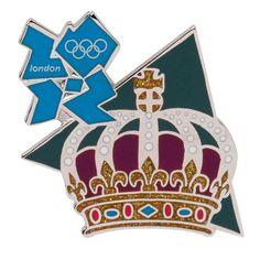Olympics London 2012 Olympics Crown Landmark Icon Pin