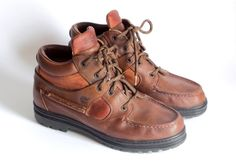 Timberland ' Alexa ' Vintage Women's 38345 Cinnamon Leather Hiking Boots Sz 8 M