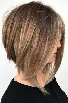 50 Medium Bob Hairstyles For Women Over 40 In 2019 Best Wedding Style Short Hair Haircuts Thick Hair Styles Short Hair Model