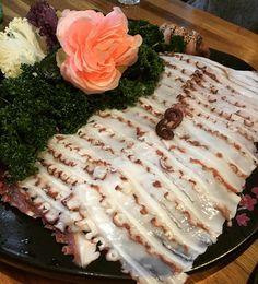 #문어숙회 . . #instafood #foodporn #foodie #octopus #sashimi by princessumin