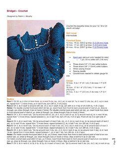 Bridget Dress free crochet pattern