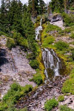 Vidae Falls, Rim Drive, Crater Lake National Park