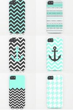 Phone cases my fave colors