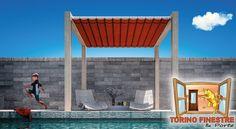 Tende da Sole da Giardino modello Ghost Terrazzo, Pergola, Outdoor Structures, Outdoor Pergola