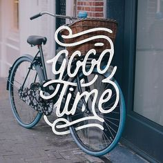 Creative Hand, Lettering, Typography, Good, and Time image ideas & inspiration on Designspiration Hand Drawn Type, Hand Type, Types Of Lettering, Lettering Design, Typography Letters, Typography Logo, Calligraphy Letters, Caligraphy, Typography Inspiration