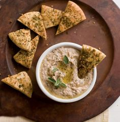 Not only is this dip full of flavor, it's packed with important nutrients and lots of protein. The full flavor of aged balsamic vinegar gives this dip depth and complexity.