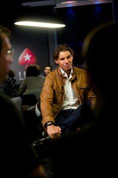 Rafaholics - Rafael Nadal Fan Site: HQ Photos: Rafa Nadal drops in on PokerStars Madrid