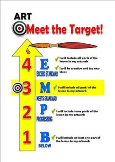 Keara's Target chart- I'd recognize this anywhere!