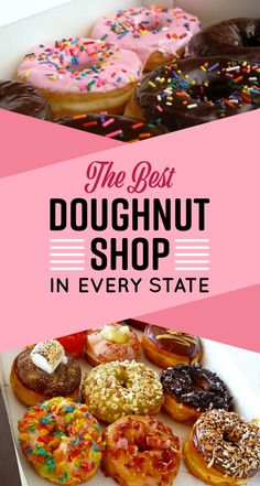 Here's The Best Doughnut Shop In Your State. Goal: to go to the best donut shops in each state!