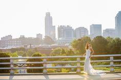 Raleigh Skyline Wedding Styled Shoot - Southern Bride & Groom