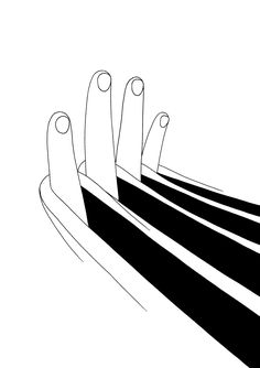 """Black and white illustration by Mrzyk & Moriceau """"One drawing a day keeps the doctor away """" #illustration"""