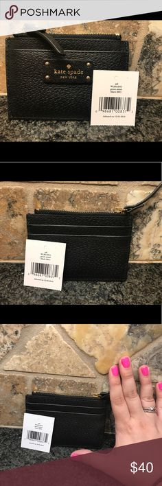 Kate Spade Adi small change purse Kate Spade Adi small change purse with slots for ID and cards kate spade Bags Wallets