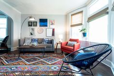 Before & After: A Logan Square Stunner for the Color-Averse, on Design*Sponge