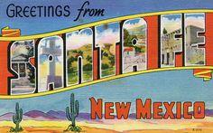 Greetings from Santa Fe, New Mexico