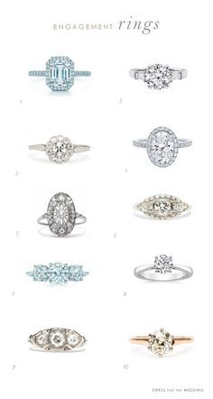 Engagement rings she's sure to love
