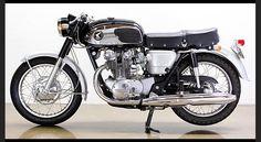 Honda CB450 Black Bomber