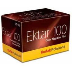 Kodak Ektar 100 135-36 Color Negative Film