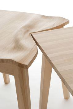 Diseño de mesa que simula abolladura