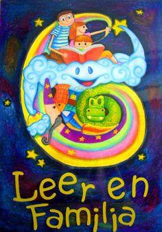 """Programa """"Leer en familia"""" de Fundalentura. Se crea para promover la lectura en el hogar desde los primeros meses de vida.  http://www.leerenfamilia.com/"""