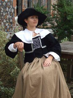 17th century lady