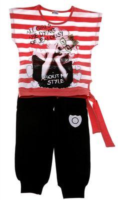 Εβίτα παιδικό σετ μπλούζα-παντελόνι «Jealous Girl» - Παιδικά ρούχα cfc65840bc1