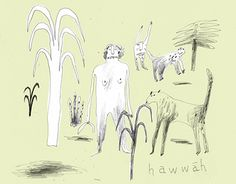 """Check out new work on my @Behance portfolio: """"Hawwah"""" http://be.net/gallery/43214479/Hawwah"""