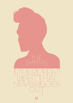 a print inspired by There Is A Light That Never Goes Out by The Smiths.