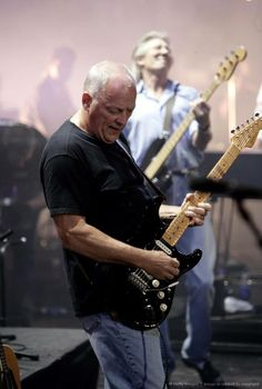 David Gilmour e Roger Waters. Live 8...