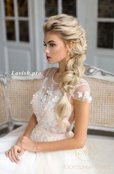p… Trendy Wedding Hairstyles : Featured Wedding Hairstyle: lavish. Bride Hairstyles For Long Hair, Long Hair Wedding Styles, Wedding Hairstyles For Long Hair, Wedding Hair And Makeup, Diy Hairstyles, Long Hair Styles, Hairstyle Ideas, Trendy Wedding, Hairstyle Wedding