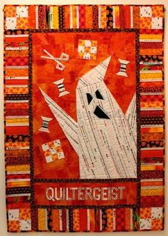 QUILTERGEIST !!!   The Q and the U - Quilting Blog   Bloglovin'