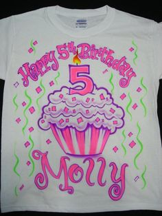 Airbrush Shirts Cupcake Birthday Ideas Art Journaling Random Stuff Birthdays Diary Things Anniversaries