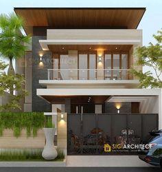 Minimal House Design, Small House Interior Design, Duplex House Design, House Front Design, Fasade House, House Extension Design, Architectural House Plans, Luxury Homes Dream Houses, Modern House Plans