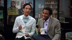Troy and Abed in the moooooorrning!