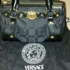 I just discovered this while shopping on Poshmark: *REDUCED* Authentic Versace mini handbag. Check it out!  Size: Small