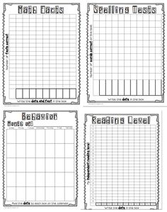 tracking student progress template 16 Teacher Hacks for Making Data Collection a Piece of Cake Student Data Binders, Student Data Tracking, Data Folders, Goal Tracking, Student Goals, Teacher Binder, Teacher Organization, Teacher Hacks, Small Group Organization