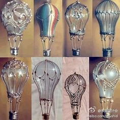 Decorated Lightbulbs