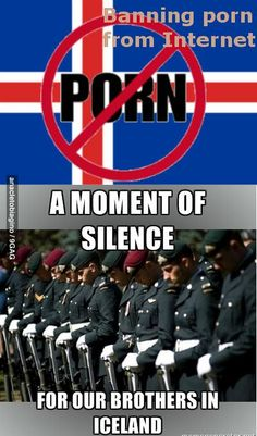 A moment of silence for our brothers in Iceland