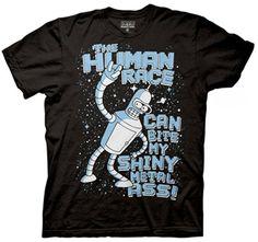 Futurama The Human Race T-Shirt, Cartoons T-Shirt | StyleCaster