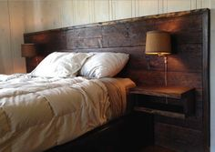 Bed wood
