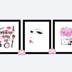 Maya, Gallery Wall, Frame, How To Make, Home Decor, Makeup Illustration, Clear Glass, Shopping, Bedroom Dressing Table