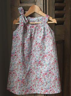 Townmouse Sundress - fabric is Liberty Tatum